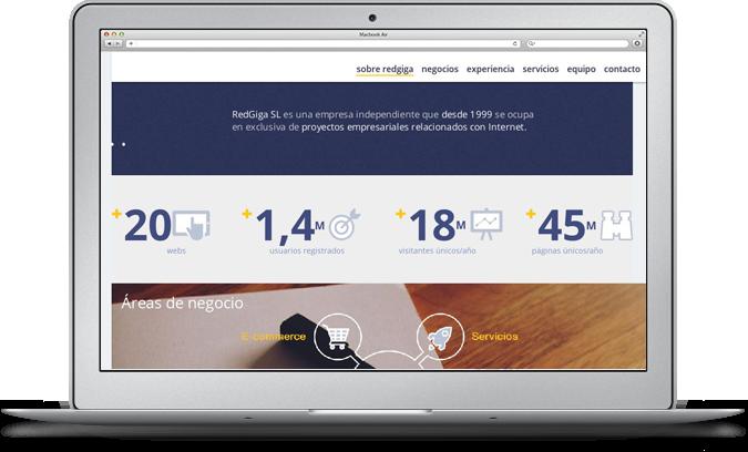 Servicios de consultoría y diseño web