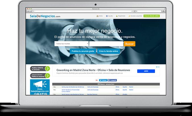 Mercado online para empresas y profesionales
