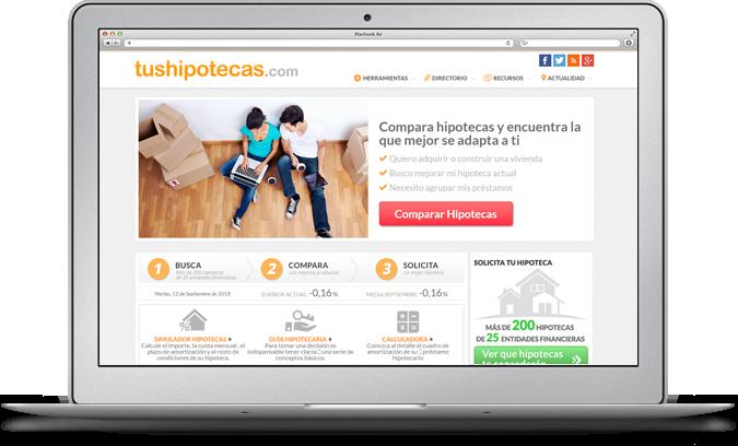 Información de hipotecas, préstamos y créditos personales